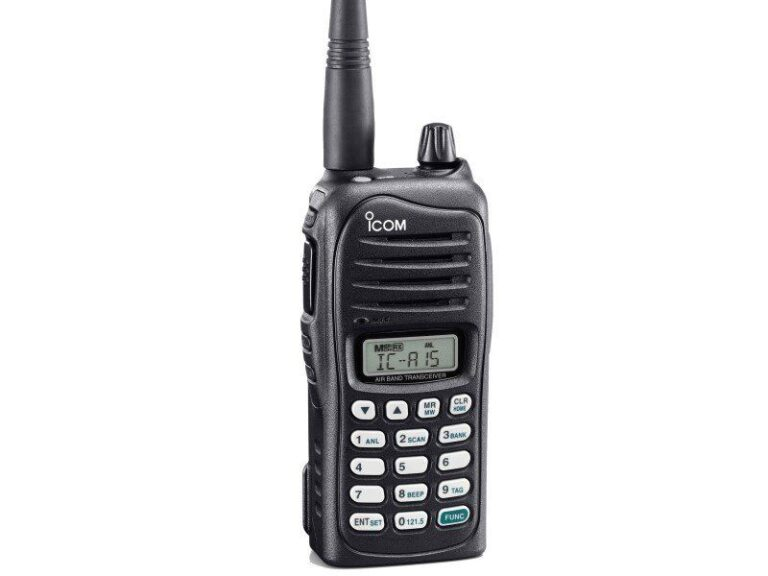 Icom IC-A15 VHF Air Band Transceiver