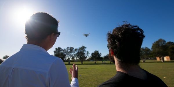 Aviassist staff teaching the Drone Remote Pilot Licence & Visual Line of Sight course in Brisbane