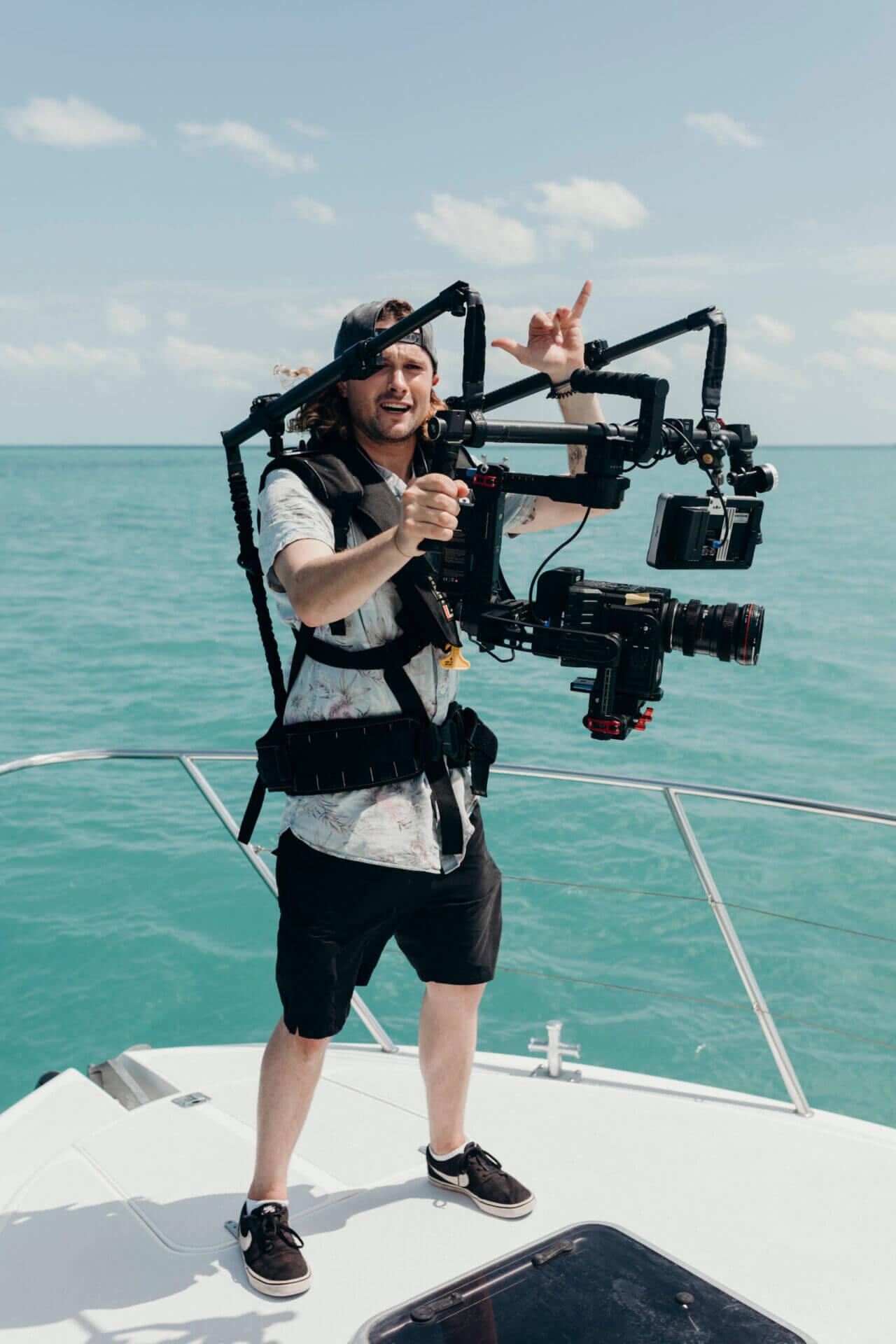 Drone filmmaker
